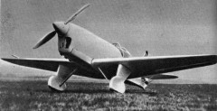 Yakovlev Ya 21 model airplane plan