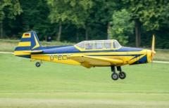 Zlin 126 Trener model airplane plan