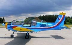 Zlin 142 model airplane plan