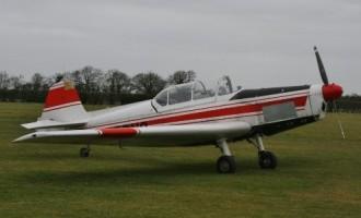 Zlin 526 Trener model airplane plan