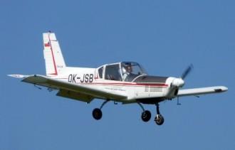 Zlin Z-42M model airplane plan