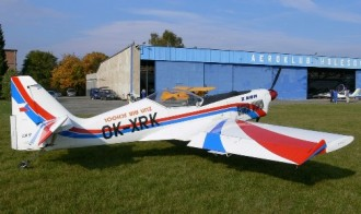 Zlin Z-50M model airplane plan