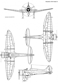 a5m4 3v model airplane plan