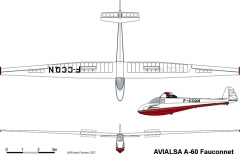a60 3v model airplane plan