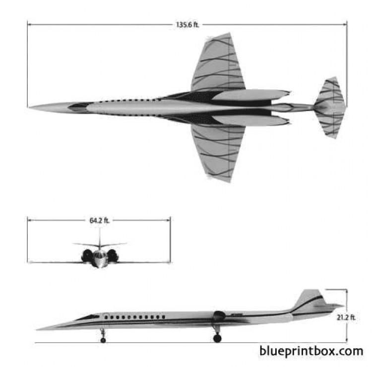 aerion model airplane plan