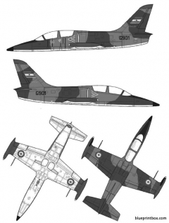 aero l 39c albatros model airplane plan