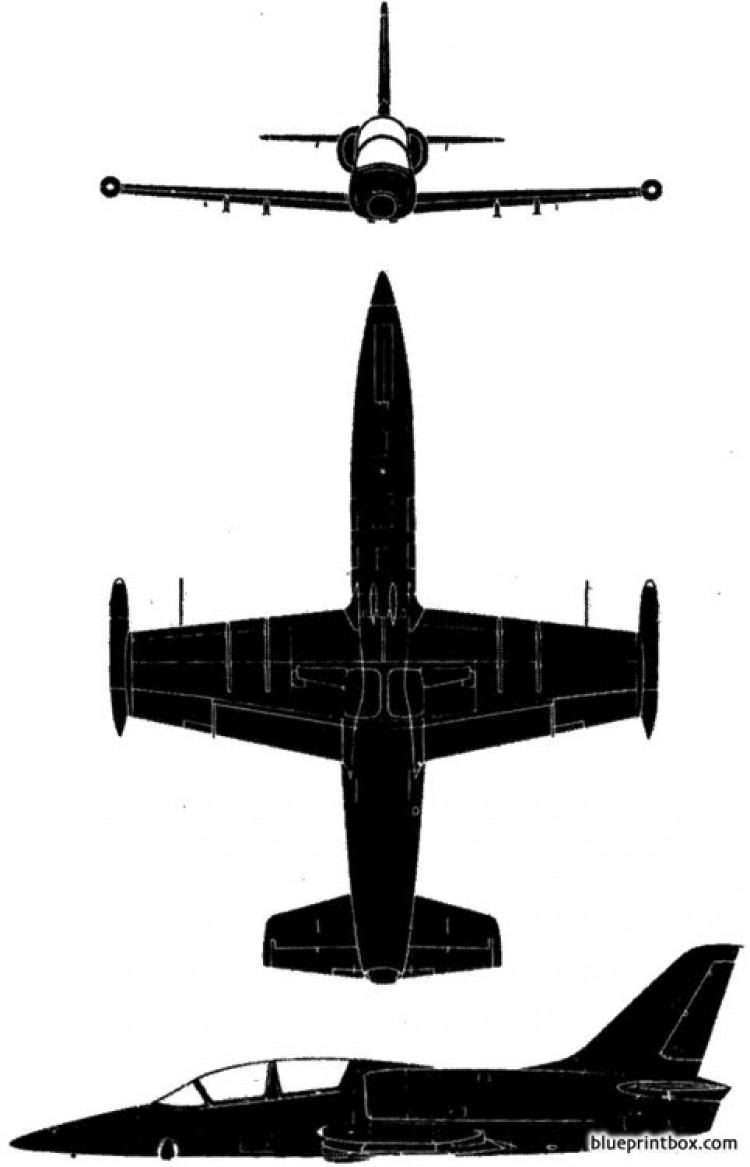 aero vodochody l 39 albatros model airplane plan