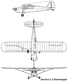 aeronca l3 3v model airplane plan