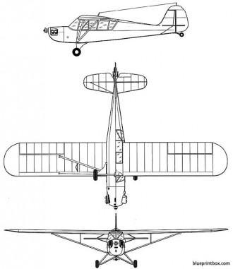 aeronca l 3 grasshopper model airplane plan