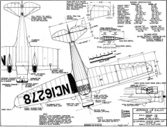 aeroncalb 2 3v model airplane plan