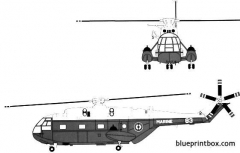 aerospatiale sa321 super frelon model airplane plan