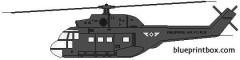 aerospetial sa 330 puma model airplane plan