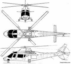 agusta 109 model airplane plan