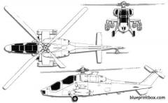 agusta a 129 mangusta model airplane plan