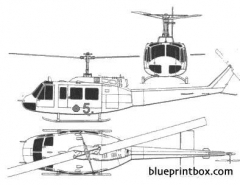agusta ab 205 model airplane plan