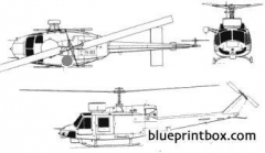 agusta bell ab 212asw model airplane plan
