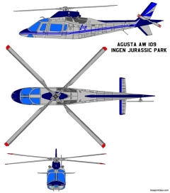 agusta westland aw109 model airplane plan