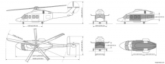 agustawestland 139vip model airplane plan