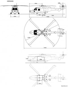 agustawestland 159 model airplane plan