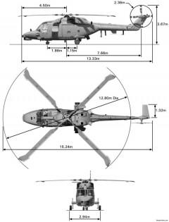 agustawestland super lynx 300 2007 model airplane plan