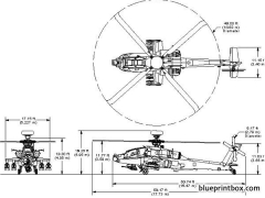 ah64longbow model airplane plan