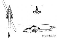 ah 1 super cobra model airplane plan