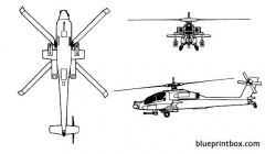 ah 64 apache model airplane plan