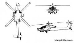 ah 64 apache model airplane plan