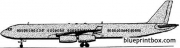 airbus a340 model airplane plan