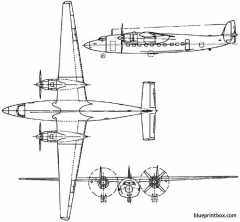airspeed as57 ambassador 1947 england model airplane plan