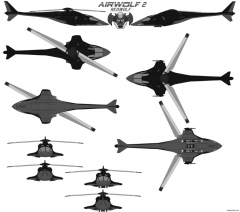 airwolf2 redwolf reimagind model airplane plan