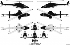 airwolf 03 model airplane plan