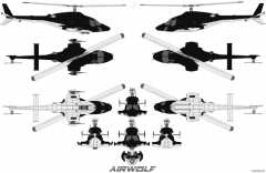 airwolf 2 model airplane plan
