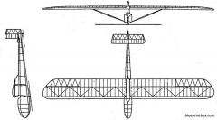 akafliegmunchen mu 4 model airplane plan