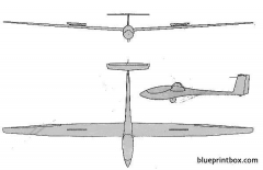 alexander schleicher asw 24 model airplane plan
