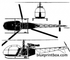 alouette ii 2 model airplane plan