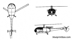 alouette iii model airplane plan