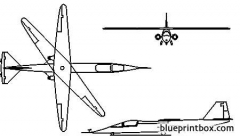 ames dryden ad 1 model airplane plan