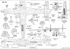an22 3v model airplane plan