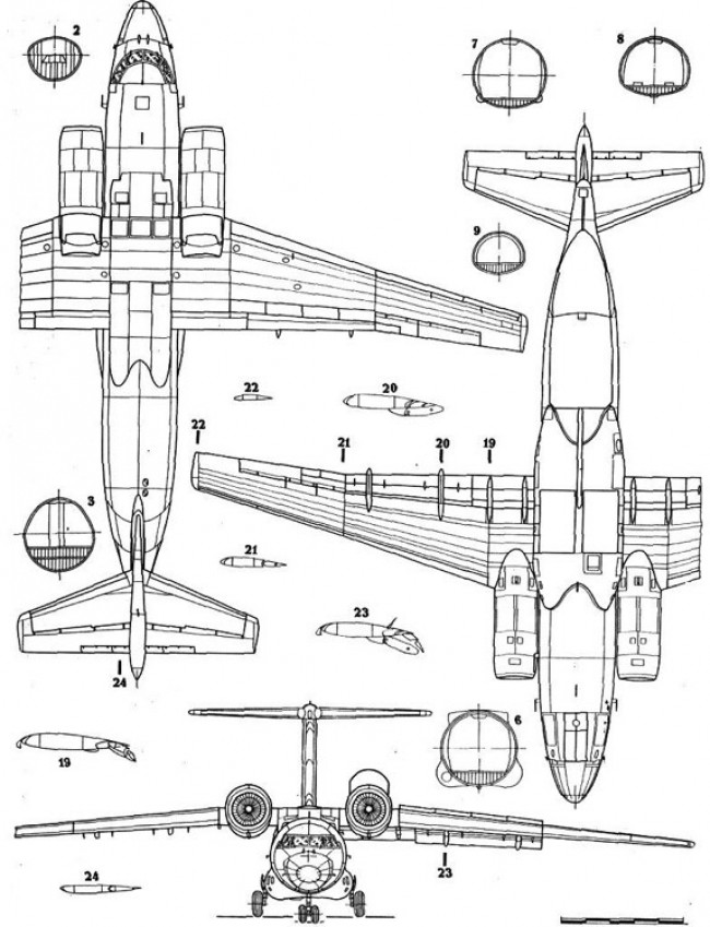 an72 3v model airplane plan