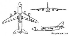 an 124 condor model airplane plan