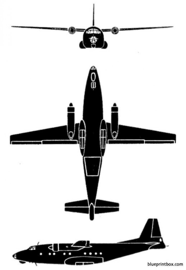 an 4 camp model airplane plan