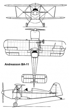 andreassonba11 3v model airplane plan