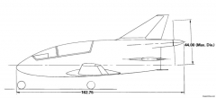 another view of the bd 5b model airplane plan