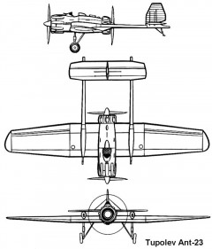 ant23 3v model airplane plan