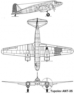 ant35 3v model airplane plan