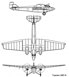 ant9 1 3v model airplane plan