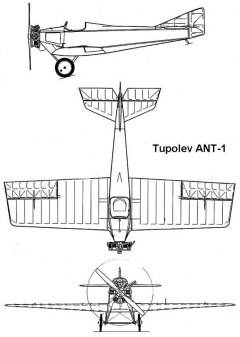 ant 1 3v model airplane plan