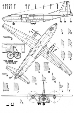 antonov8 3v model airplane plan