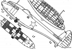 antonov a 7 2 model airplane plan